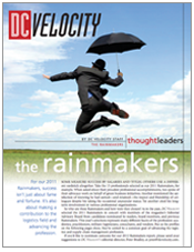 DC Velocity's Rain Makers