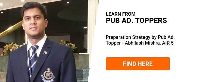 UPSC Mains Pub Ad Topper Strategy