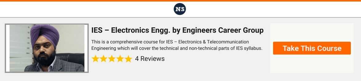 Best Strategy For Ies Electronics Engineering Preparation