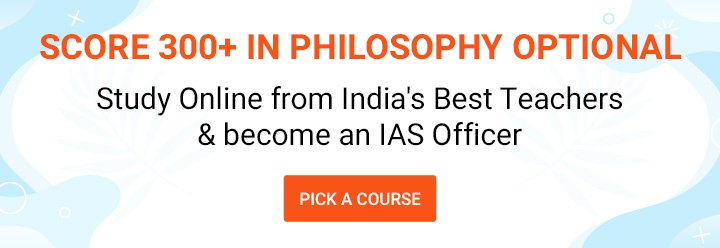 Philosophy Optional Courses for UPSC