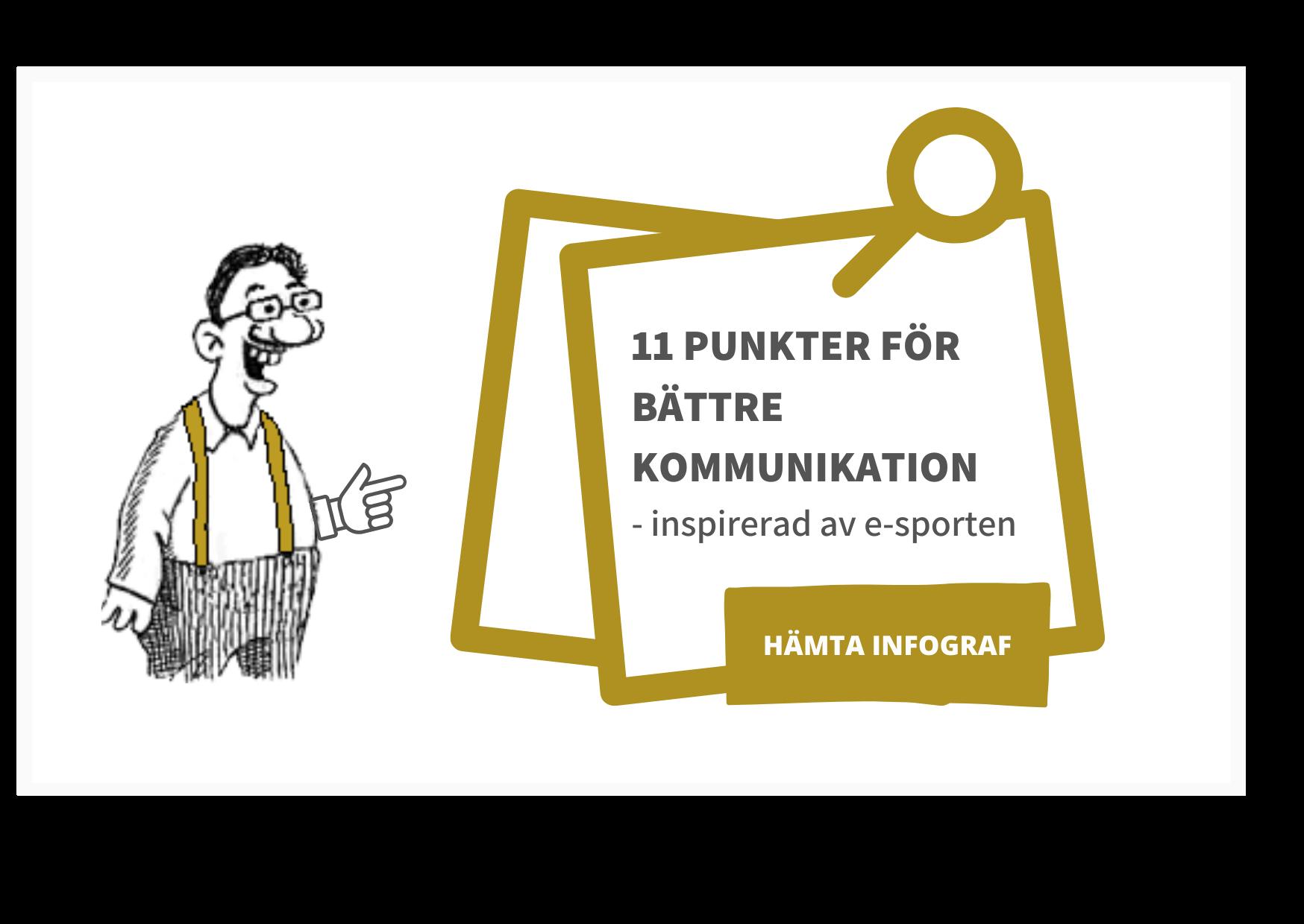 11 punkter för bättre kommunikation - Mustasch och Hängslen