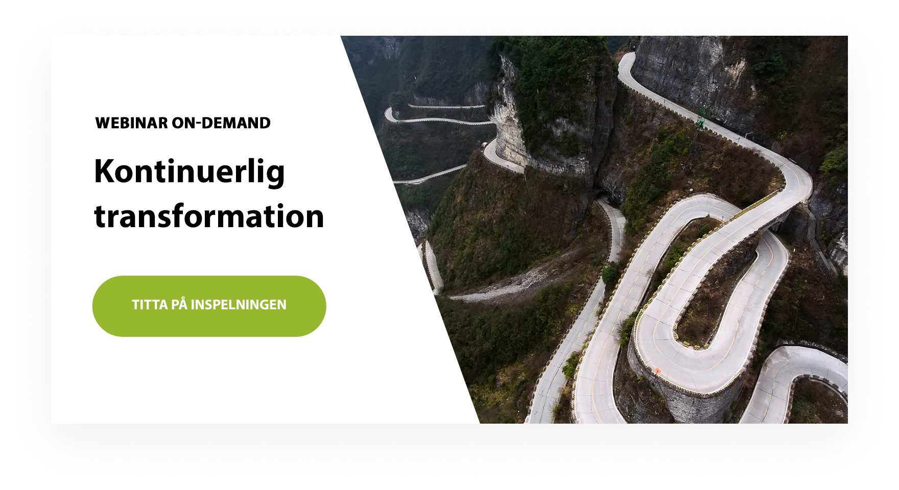 webinar on-demand: kontinuerlig transformation
