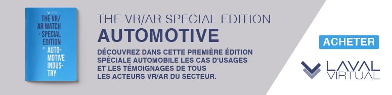 Acheter le magazine VR/AR dédié à l'automobile