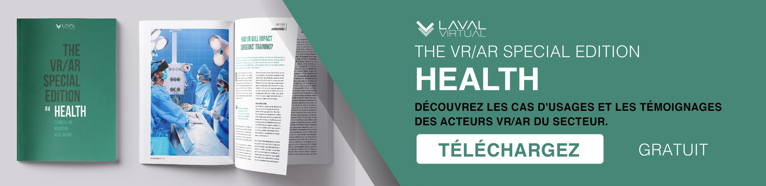 Acheter le magazine VR/AR dédié à la santé