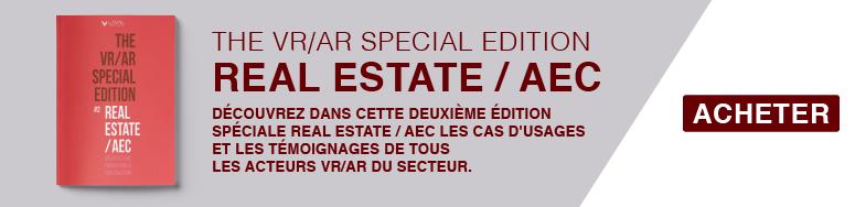 Acheter le magazine VR/AR dédié à l'immobilier, à la construction et à l'architecture