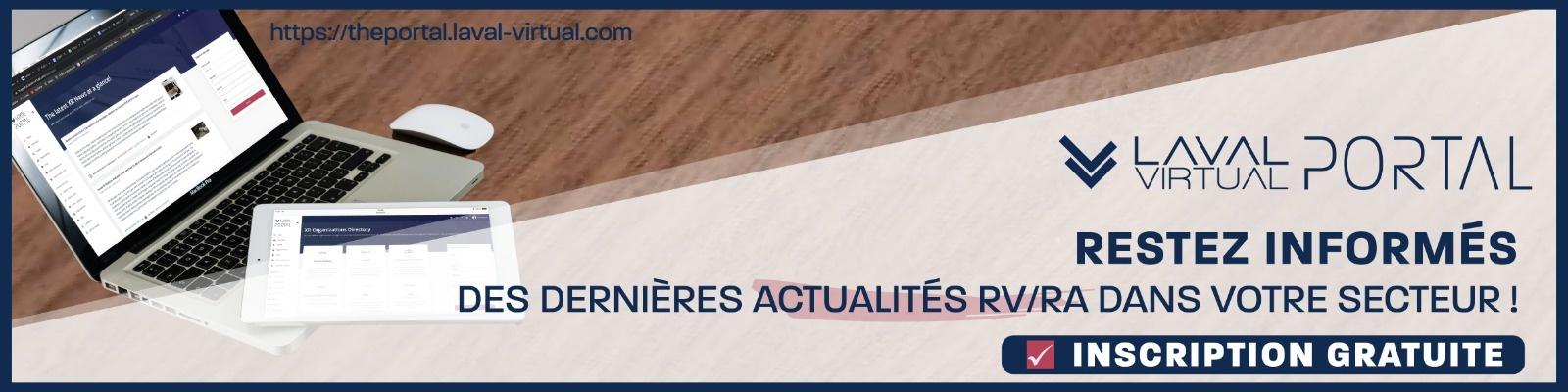 Inscription fil d'actualité VR/AR Laval Virtual