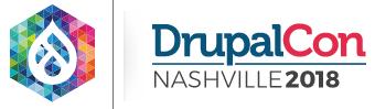 Drupalcon Nashville 2018