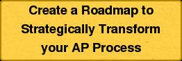 Create a Roadmapto  Strategically Transform  your AP Process