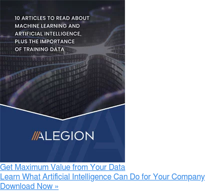 Get Maximum Value from Your Data Learn What Artificial Intelligence Can Do for  Your Company Download Now