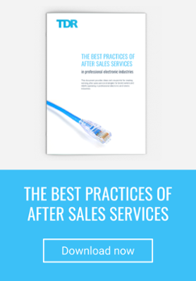 Best practices of after sales services in electronic industries