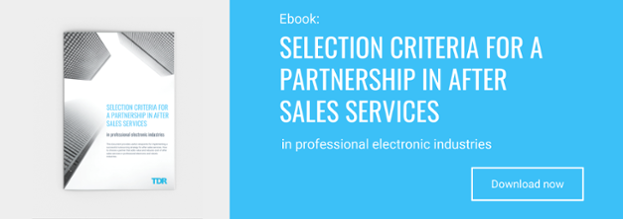 selection-criteria-for-a-partnership-in-after-sales-services-in-professional-electronic-industries