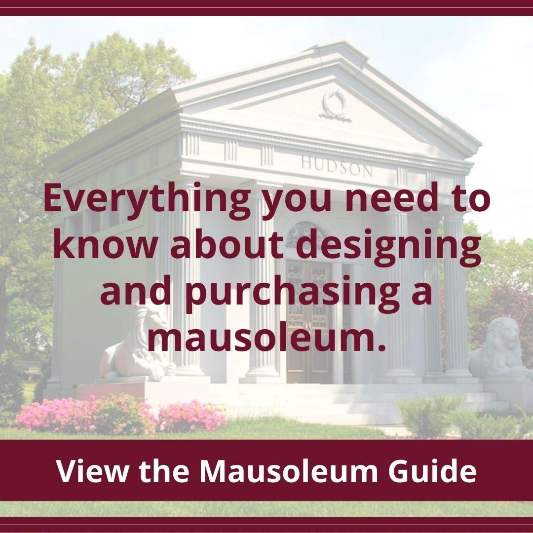 mausoleum design guide