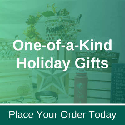 order a one of a kind holiday gift from milano inspirations