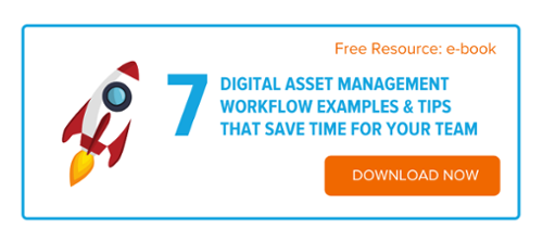 Digital Asset Management Workflow examples & tips that save time for your team