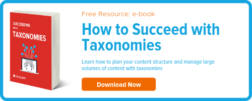 e-book Download: Succeeding with Taxonomies