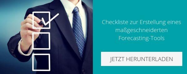 Checkliste Forecasting Tool