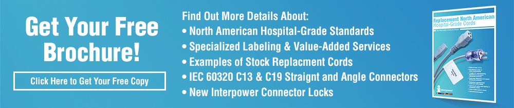 Free Replacement North American Hospital-Grade Cords Brochure