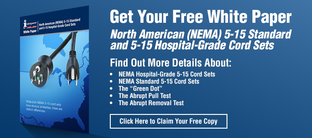 Brochure on North American Standard and Hospital-Grade cords