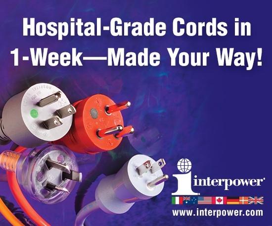 Hospital-Grade Cords in 1-Week!