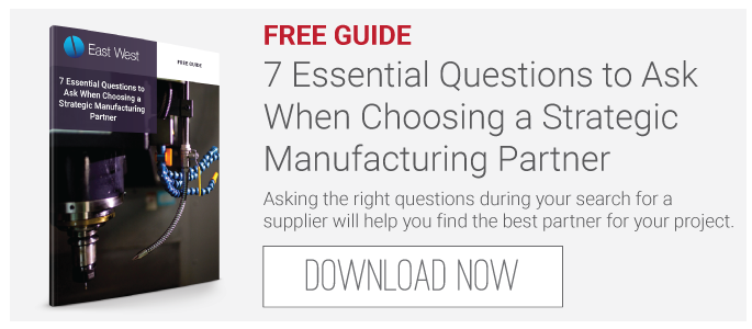 FREE Guide: 7 Essential Questions to Ask When Choosing a  Strategic Manufacturing Partner