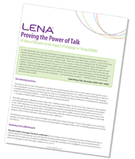 Proving the Power of Talk report