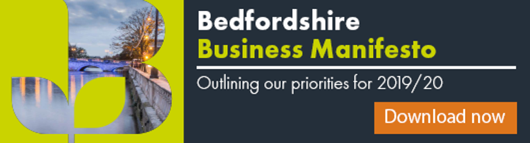 Bedfordshire Business Manifesto 2019/20