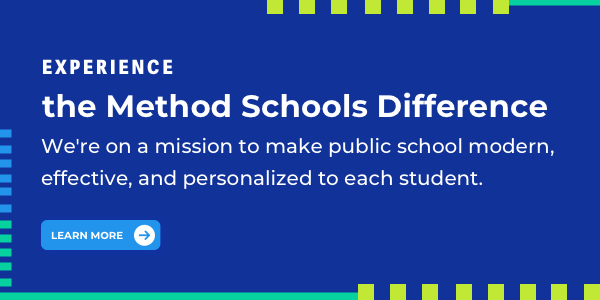 Method is here to help your child succeed. Learn more >>