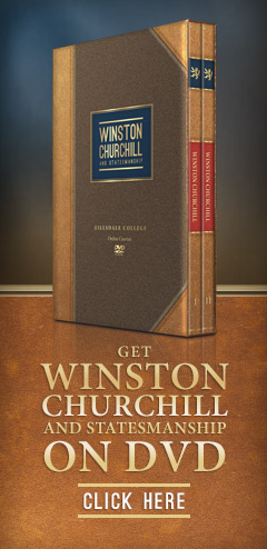 Get Winston Churchill and Statesmanship on DVD
