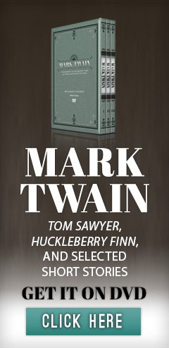 Get Mark Twain course on DVD