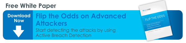 Use Active Breach Detection to Flip the Odds on the Attackers