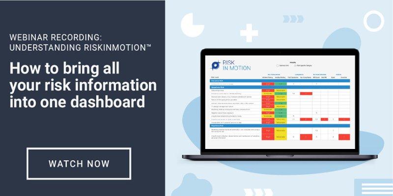 Webinar: Understanding RiskInMotion