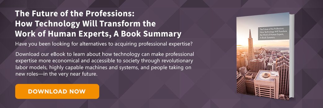 Download the Future of the Professions Summary