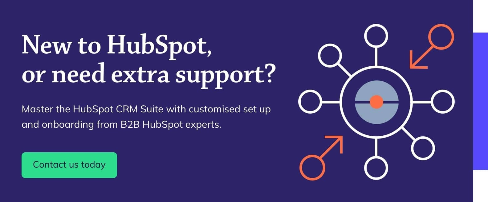 HubSpot set up and on-boarding