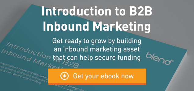 Investors love inbound - introduction to B2B inbound marketing
