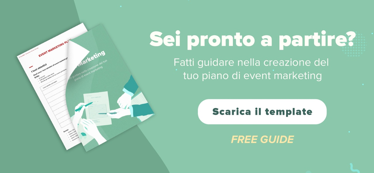 Template del piano di event marketing: esempio pratico