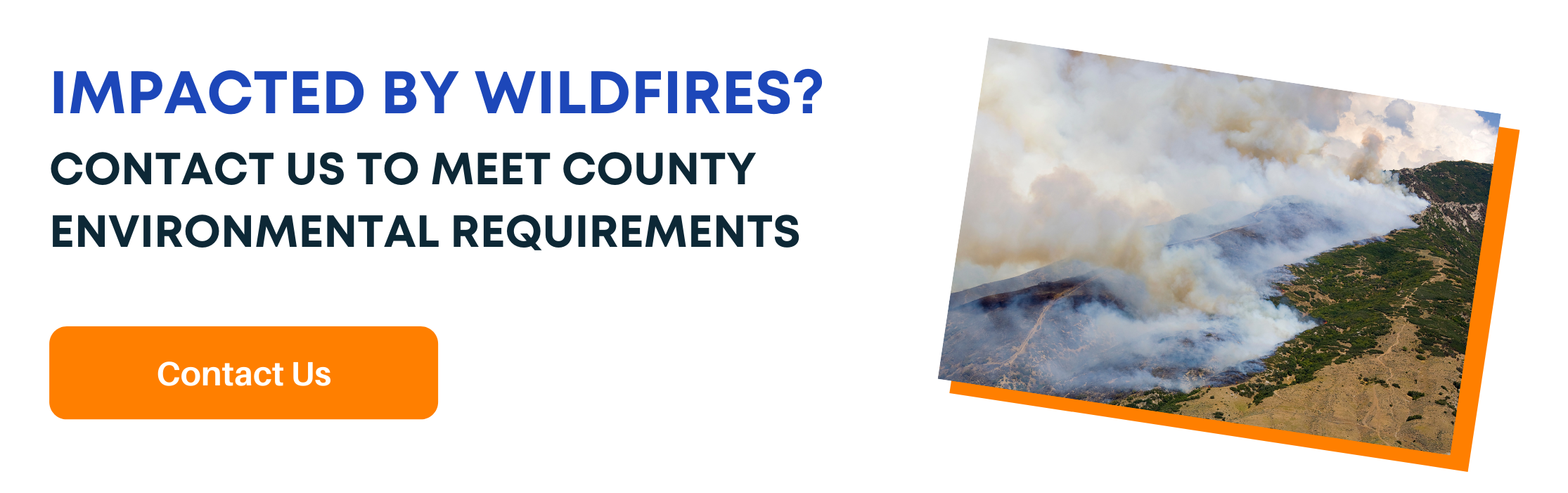 Environmental Testing for County ROE Requirements