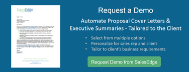 Request Demo - Automate Cover Letters & Executive Summaries