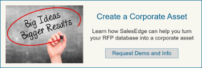 Turn Your RFP Database into a Corporate Asset
