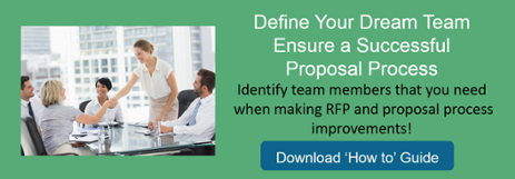 Define Your Dream Team for Proposal Process Improvement