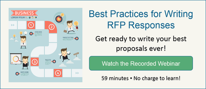 Watch Webinar: Best Practices for Writing RFP Responses