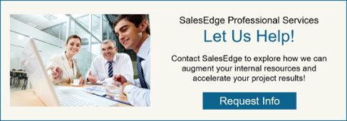 Request Info for SalesEdge Professional Services