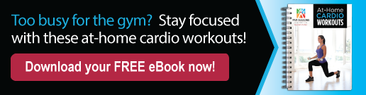 Kick start your routine with this free At-Home Cardio Workout eBook!