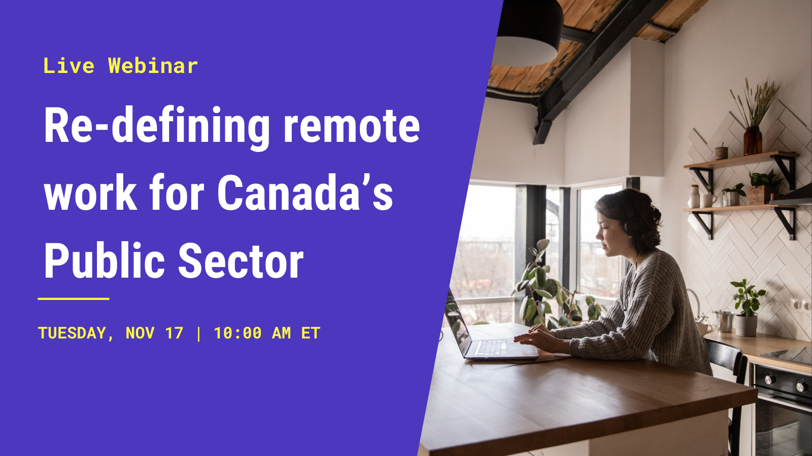 Re-defining remote work for Canada's public sector