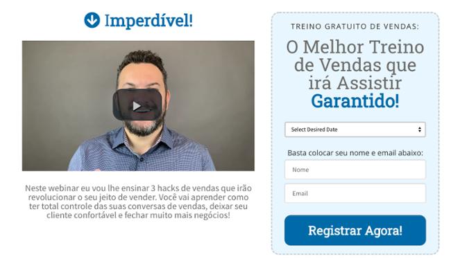 Webinar Hacks De Vendas - Imperdível