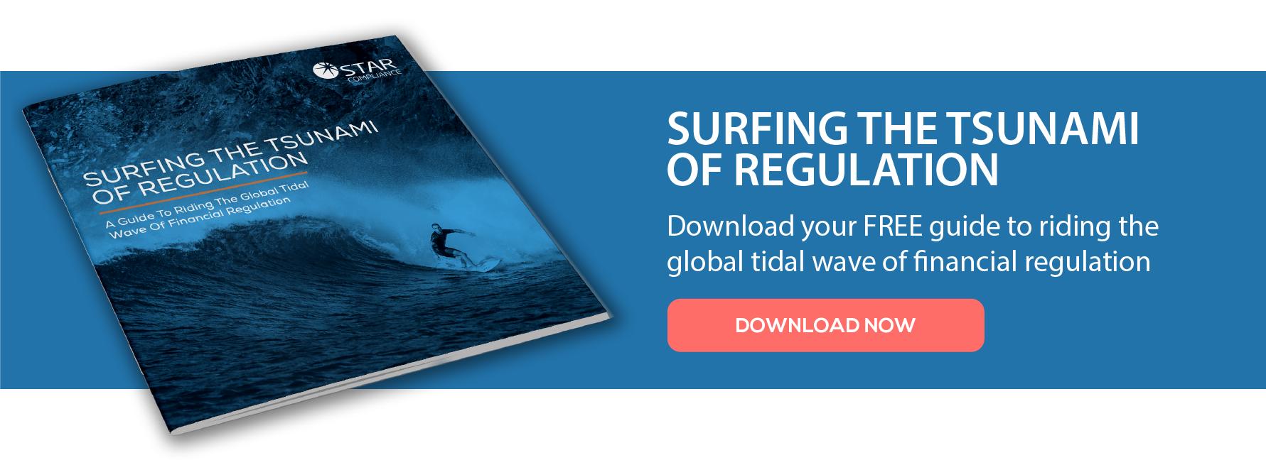 Tsunami of Regulation