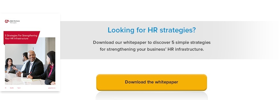 Strategies To Strengthen HR Infractstructure