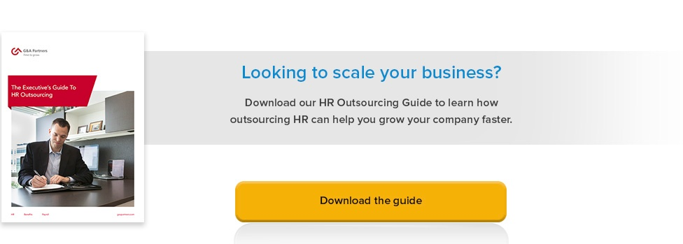 Executive Guide To HR Outsourcing