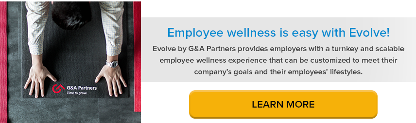 Employee wellness solutions with Evolve by G&A Partners