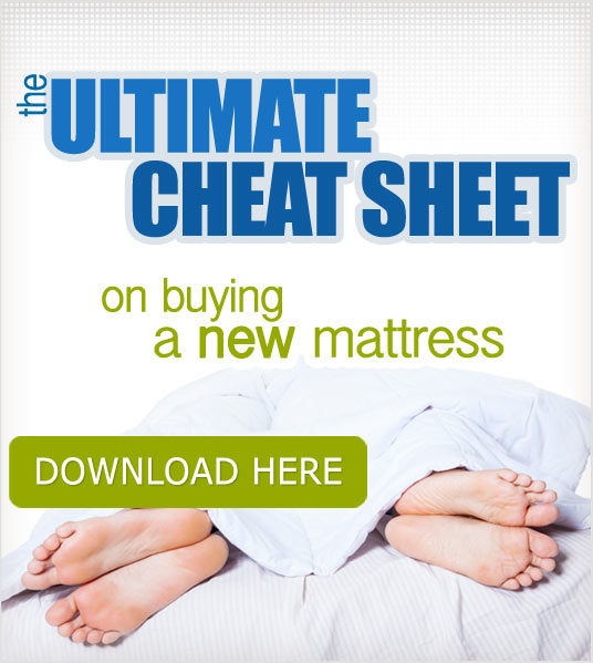 Mattress Buying Guide Cheat Sheet