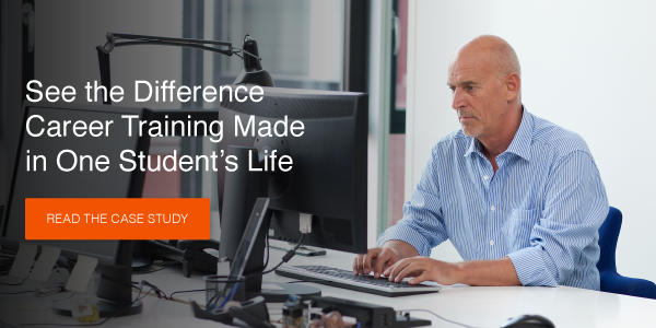 See the difference career training made in one student's life! Read the case study >>